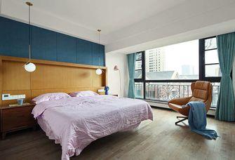5-10万三中式风格卧室设计图
