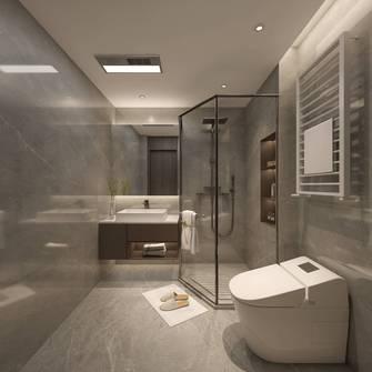 豪华型130平米三室三厅轻奢风格卫生间图