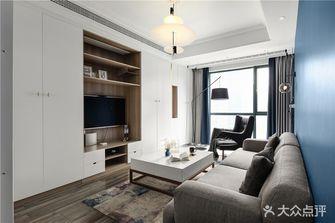 富裕型100平米三室一厅英伦风格客厅装修图片大全