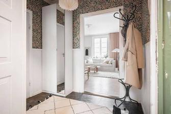 富裕型40平米小户型北欧风格卧室图