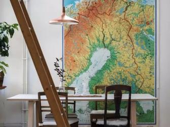 经济型40平米小户型欧式风格餐厅设计图
