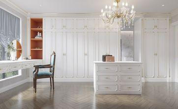 豪华型140平米别墅法式风格衣帽间装修图片大全