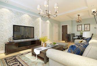 10-15万120平米三室两厅混搭风格客厅装修效果图