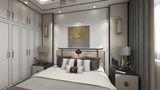 富裕型三室两厅新古典风格卧室图片