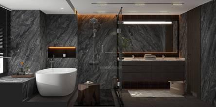 140平米港式风格卧室装修案例