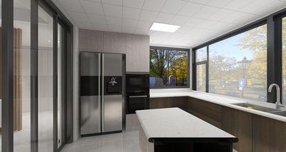140平米四室两厅现代简约风格厨房效果图