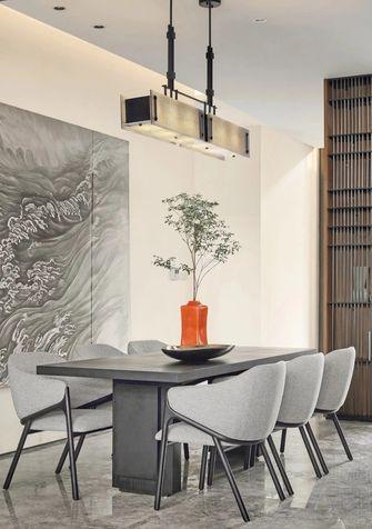 140平米复式现代简约风格餐厅图