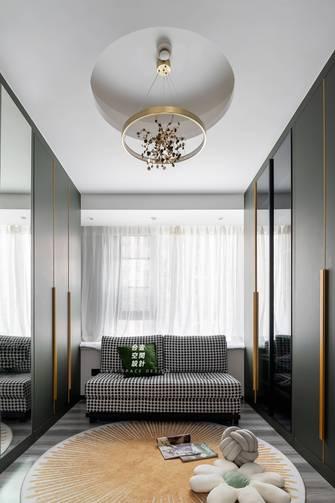 140平米四室两厅轻奢风格衣帽间装修效果图