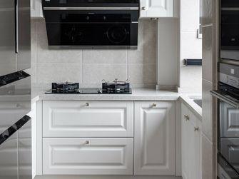 富裕型110平米三美式风格厨房图