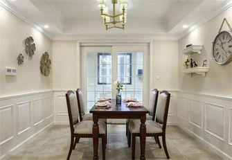 5-10万90平米三室两厅美式风格餐厅效果图