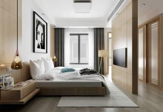 100平米一室一厅北欧风格卧室设计图