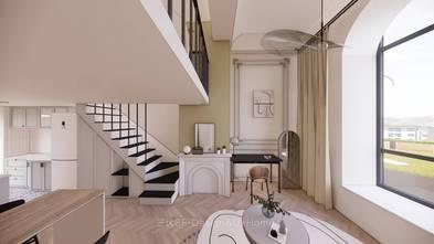 70平米一室两厅北欧风格客厅装修案例