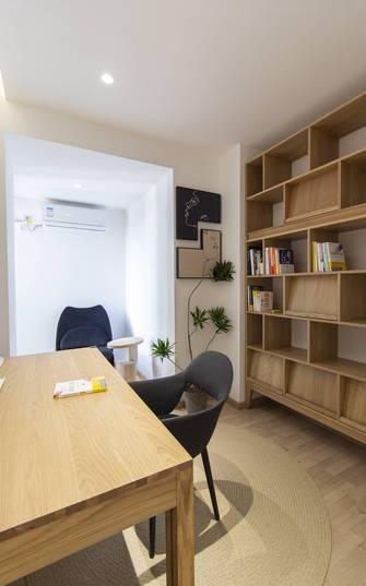 140平米三室两厅日式风格书房装修效果图