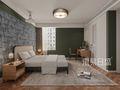 豪华型90平米三法式风格卧室装修案例