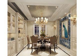 140平米美式风格餐厅图片