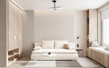 富裕型60平米一室两厅欧式风格卧室效果图