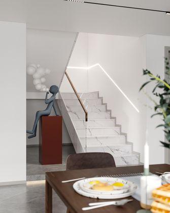 140平米三北欧风格楼梯间装修案例
