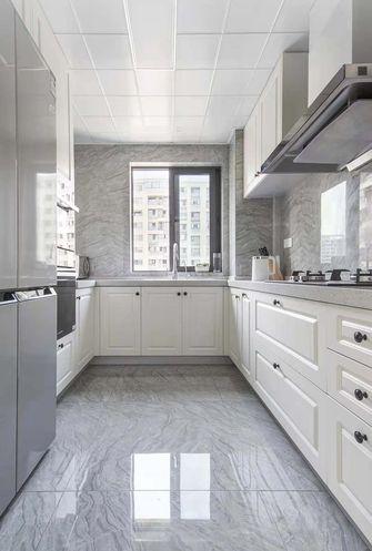 110平米三室两厅现代简约风格厨房图片大全
