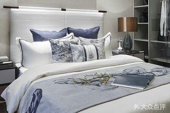 富裕型120平米三室一厅中式风格卧室装修案例