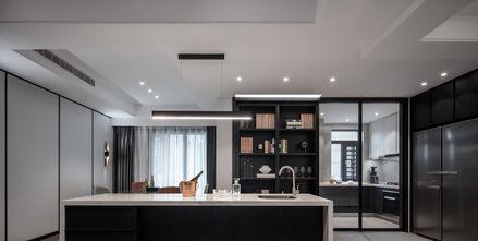 20万以上120平米三室两厅轻奢风格厨房装修图片大全