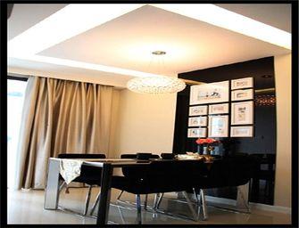 80平米三现代简约风格餐厅图片