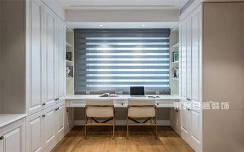 140平米复式美式风格书房欣赏图