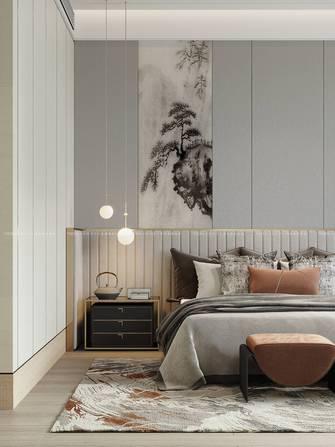 140平米四中式风格卧室设计图