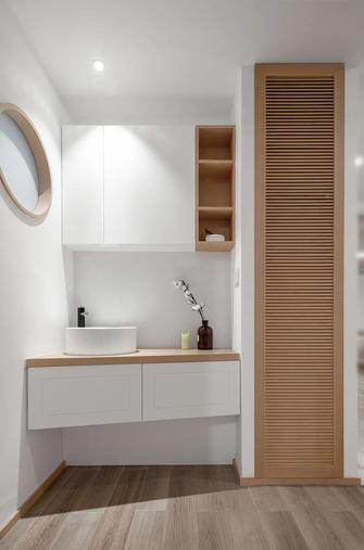 经济型140平米三室两厅北欧风格卫生间图