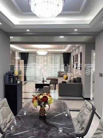 15-20万120平米三室两厅现代简约风格客厅装修案例