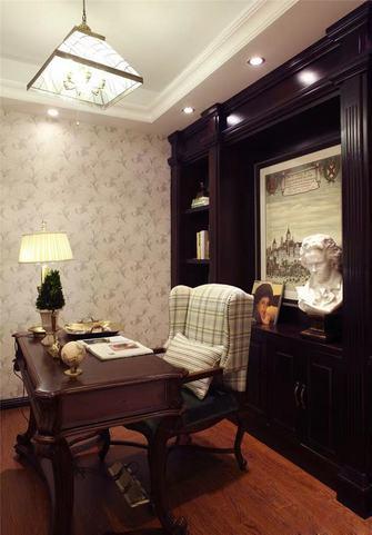 10-15万130平米四室两厅美式风格书房图片大全