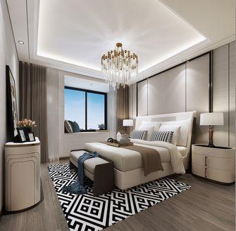 20万以上120平米一居室现代简约风格卧室装修图片大全