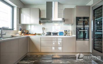 豪华型三室两厅港式风格厨房欣赏图