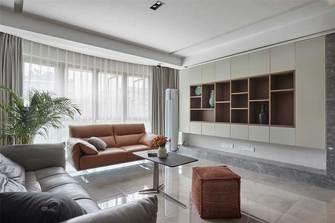 120平米三室四厅现代简约风格客厅效果图