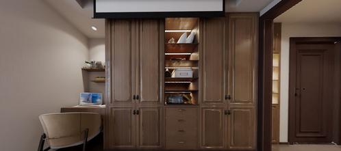 豪华型120平米三室三厅中式风格卧室图片大全