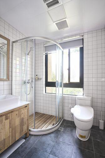 富裕型90平米日式风格卫生间效果图