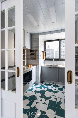 100平米三室两厅地中海风格厨房图片大全