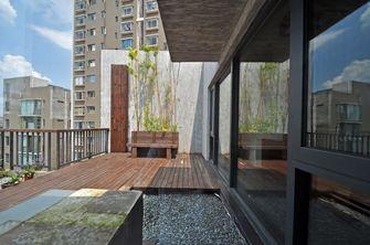 120平米三室一厅中式风格阳台设计图