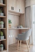 富裕型70平米日式风格书房装修效果图