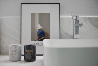 豪华型140平米三现代简约风格卫生间装修案例