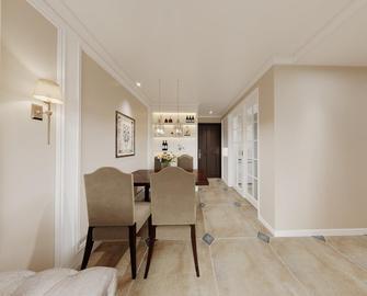 富裕型70平米三室两厅美式风格餐厅效果图