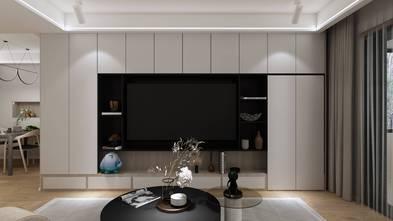 富裕型140平米复式现代简约风格客厅装修案例