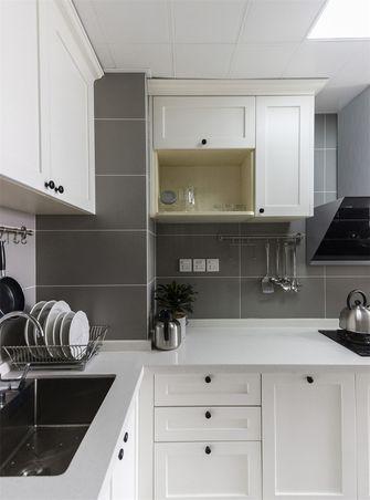 富裕型70平米一室一厅北欧风格厨房装修图片大全