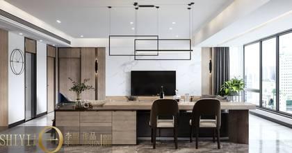 豪华型140平米四港式风格客厅图