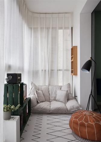 富裕型100平米三室两厅混搭风格阳台图片