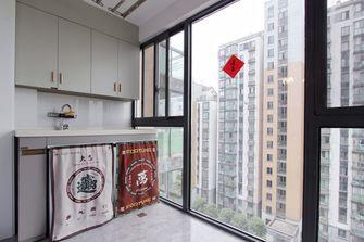 富裕型120平米三室两厅现代简约风格阳台欣赏图