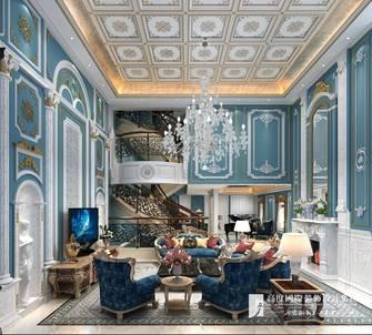 豪华型140平米别墅地中海风格客厅图