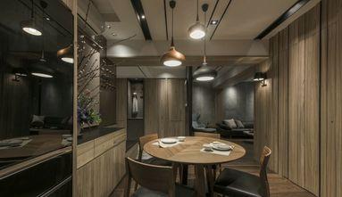 富裕型100平米三室一厅轻奢风格餐厅图片