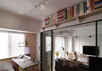 20万以上80平米一室一厅北欧风格书房欣赏图