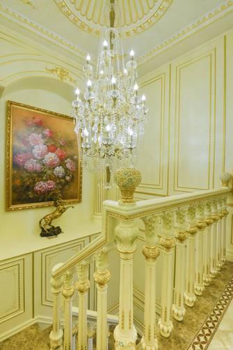 20万以上140平米法式风格楼梯间图