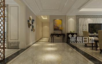 豪华型140平米别墅美式风格玄关图片大全